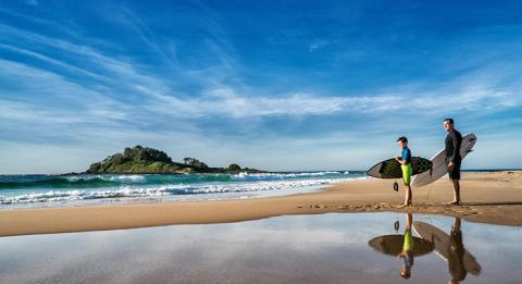 Discover world class surfing beaches on the NSW South Coast